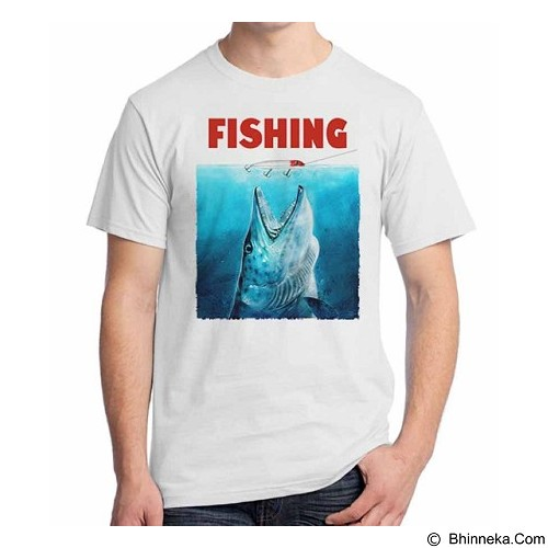 ORDINAL T-Shirt Fishing 09 Size M (Merchant) - Kaos Pria