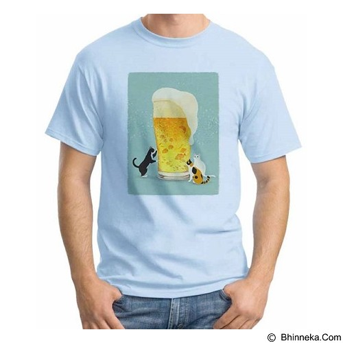 ORDINAL T-Shirt Beer Holic 16 Size XXL (Merchant) - Kaos Pria