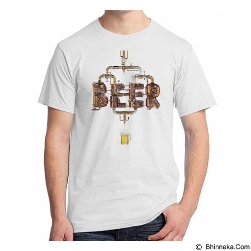 ORDINAL T-Shirt Beer Holic 15 Size L (Merchant) - Kaos Pria