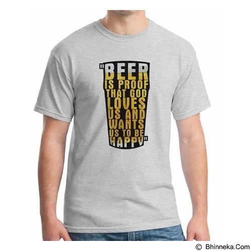 ORDINAL T-Shirt Beer Holic 11 Size S (Merchant) - Kaos Pria