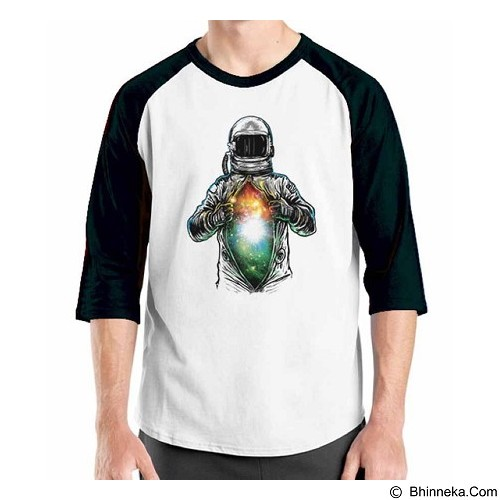 ORDINAL Raglan Space 05 Size L (Merchant) - Kaos Pria