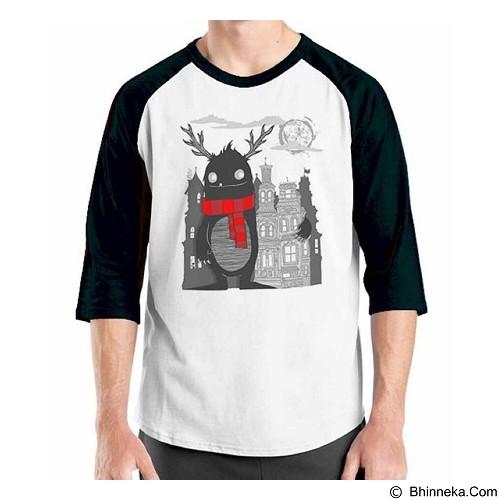 ORDINAL Raglan Monster 13 Size L (Merchant) - Kaos Pria