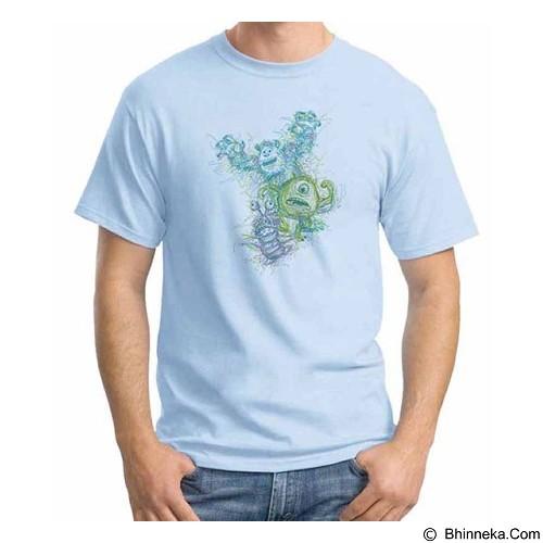 ORDINAL T-shirt Monster 09 Size ML (Merchant) - Kaos Pria