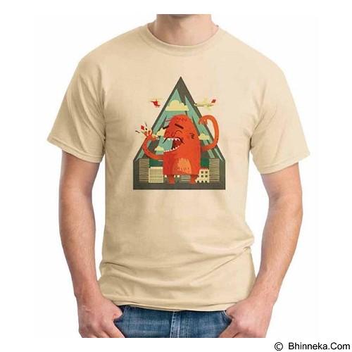 ORDINAL T-shirt Monster 10 Size XXL (Merchant) - Kaos Pria