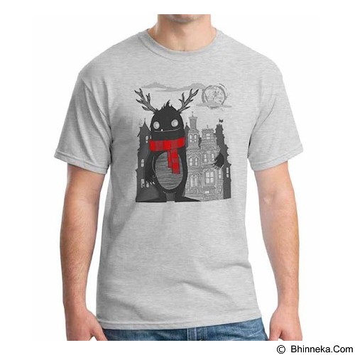 ORDINAL T-shirt Monster 13 Size ML (Merchant) - Kaos Pria