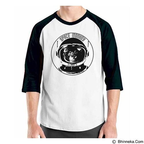 ORDINAL Raglan Space 07 Size XL (Merchant) - Kaos Pria