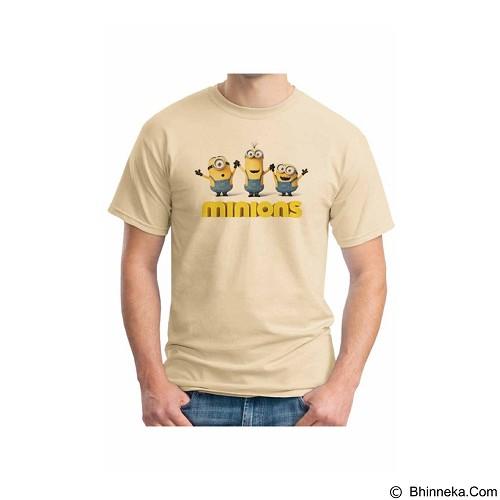 ORDINAL T-shirt Minions 03 Size M (Merchant) - Kaos Pria