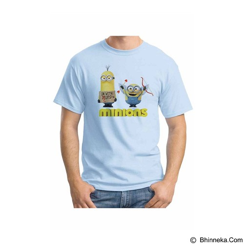 ORDINAL T-shirt Minions 06 Size ML (Merchant) - Kaos Pria