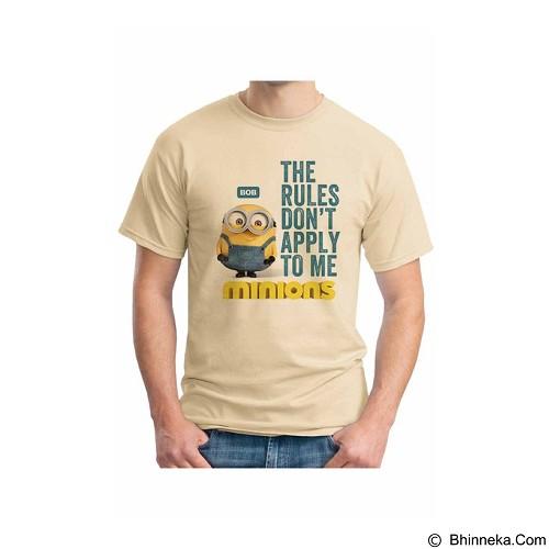 ORDINAL T-shirt Minions 09 Size L (Merchant) - Kaos Pria