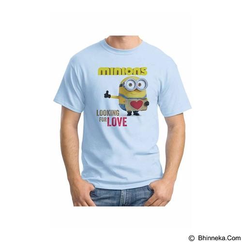 ORDINAL T-shirt Minions 11 Size L (Merchant) - Kaos Pria
