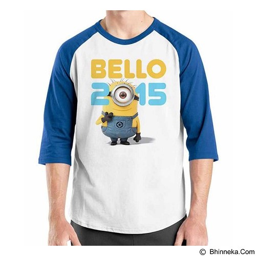 ORDINAL Raglan New Year Bello 2015 Size M (Merchant) - Kaos Pria