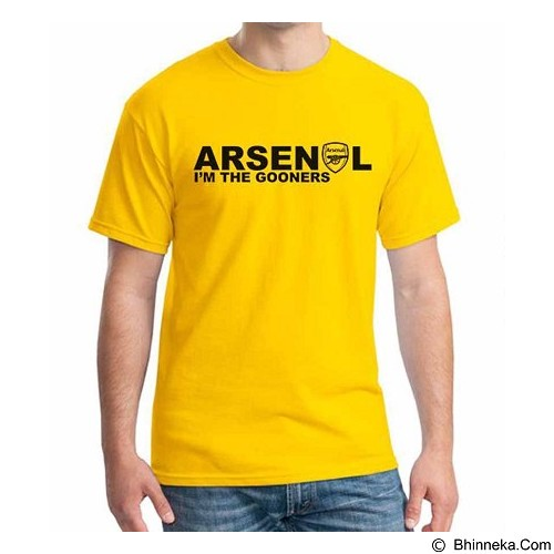 ORDINAL T-Shirt Arsenal Edition 03 Size ML (Merchant) - Kaos Pria