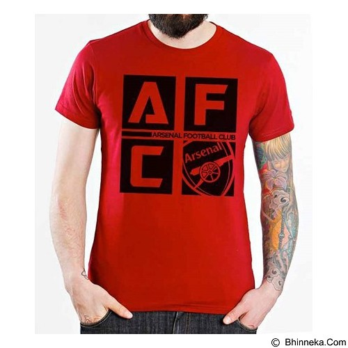 ORDINAL T-Shirt Arsenal Edition 07 Size XL (Merchant) - Kaos Pria