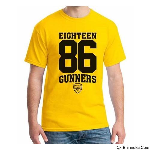 ORDINAL T-Shirt Arsenal Edition 08 Size XL (Merchant) - Kaos Pria