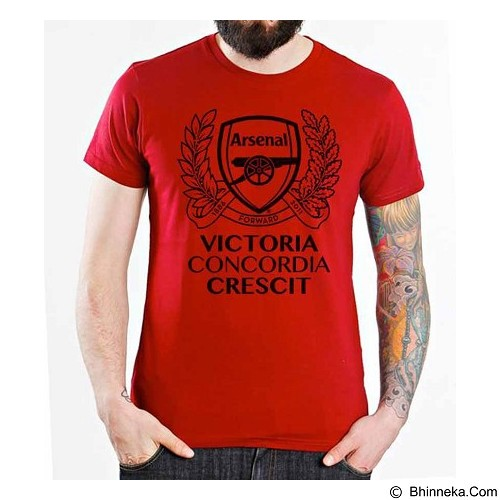 ORDINAL T-Shirt Arsenal Edition 10 Size ML (Merchant) - Kaos Pria