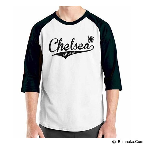 ORDINAL Raglan Chelsea Edition 09 Size ML (Merchant) - Kaos Pria