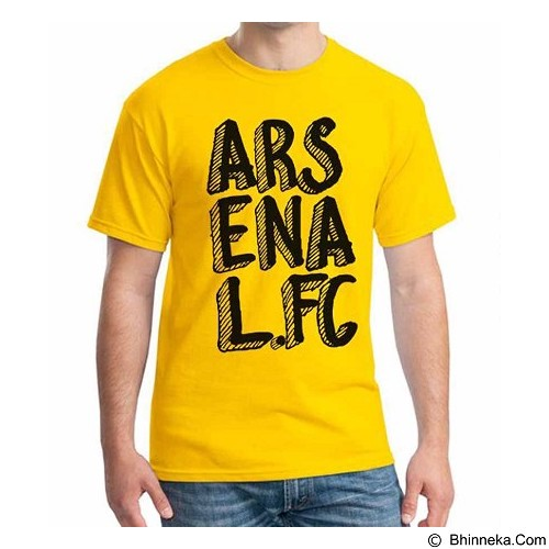 ORDINAL T-Shirt Arsenal Edition 11 Size XXL (Merchant) - Kaos Pria