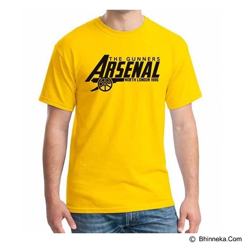 ORDINAL T-Shirt Arsenal Edition 12 Size ML (Merchant) - Kaos Pria