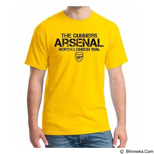 ORDINAL T-Shirt Arsenal Edition 14 Size M (Merchant) - Kaos Pria