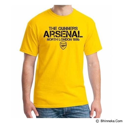 ORDINAL T-Shirt Arsenal Edition 14 Size M (Merchant) - Kaos Pria