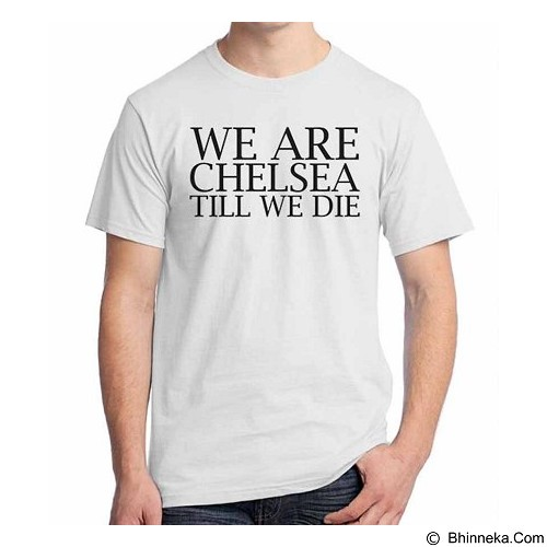 ORDINAL T-shirt Chelsea Edition 10 Size XL (Merchant) - Kaos Pria