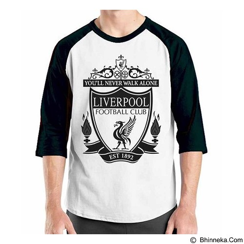 ORDINAL Raglan Liverpool Edition 02 Size XL (Merchant) - Kaos Pria