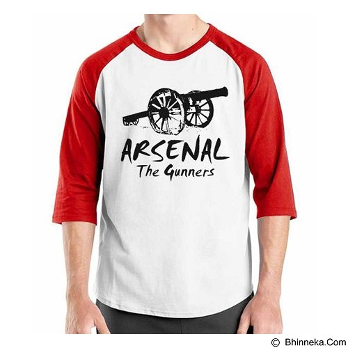 ORDINAL Raglan Arsenal Edition 02 Size M (Merchant) - Kaos Pria