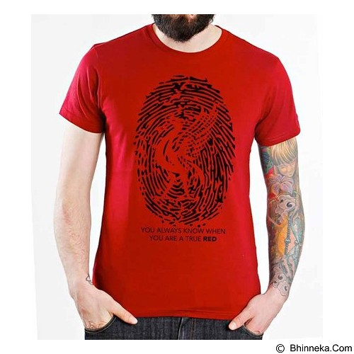 ORDINAL T-shirt Liverpool Edition 01 Size L (Merchant) - Kaos Pria