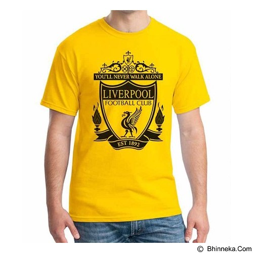 ORDINAL T-shirt Liverpool Edition 02 Size L (Merchant) - Kaos Pria