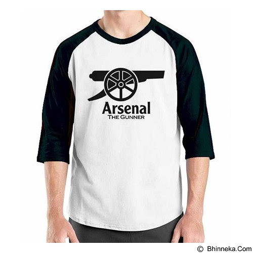 ORDINAL Raglan Arsenal Edition 05 Size ML (Merchant) - Kaos Pria