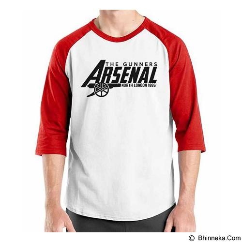ORDINAL Raglan Arsenal Edition 12 Size XXL (Merchant) - Kaos Pria