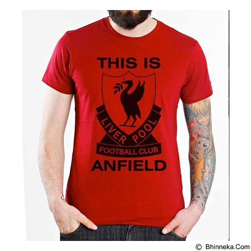 ORDINAL T-shirt Liverpool Edition 05 Size ML (Merchant) - Kaos Pria
