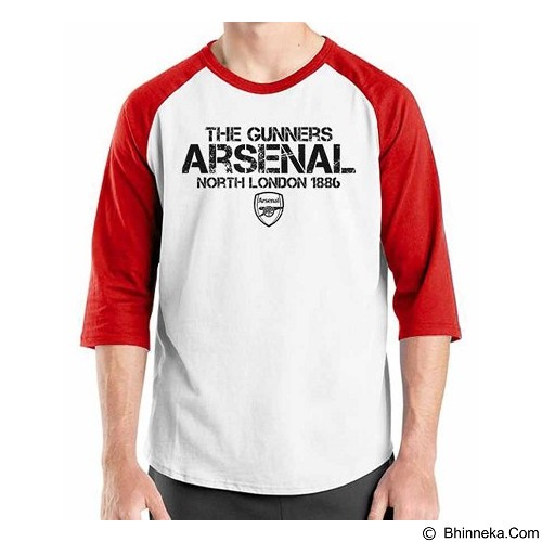 ORDINAL Raglan Arsenal Edition 15 Size L (Merchant) - Kaos Pria