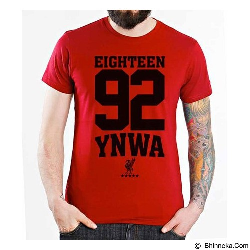ORDINAL T-shirt Liverpool Edition 08 Size XL (Merchant) - Kaos Pria