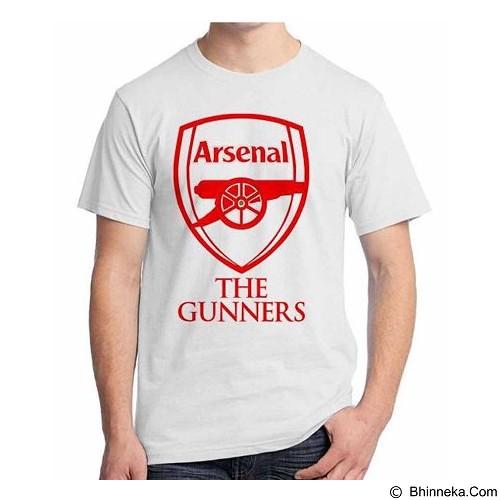 ORDINAL T-Shirt Premiere League Arsenal 02 Size S (Merchant) - Kaos Pria