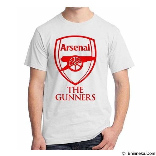 ORDINAL T-Shirt Premiere League Arsenal 02 Size XXL (Merchant) - Kaos Pria