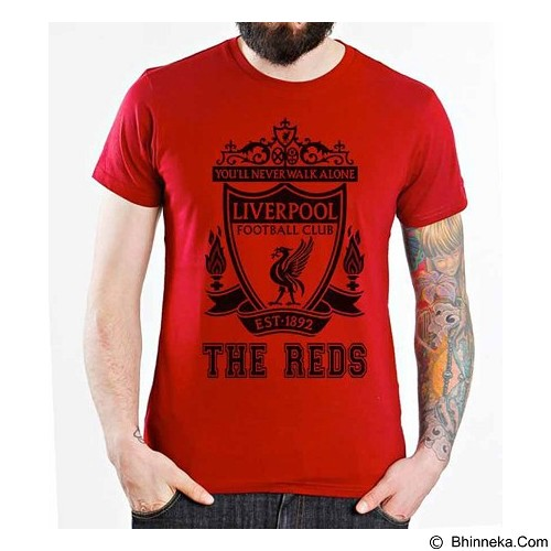 ORDINAL T-shirt Liverpool Edition 10 Size L (Merchant) - Kaos Pria