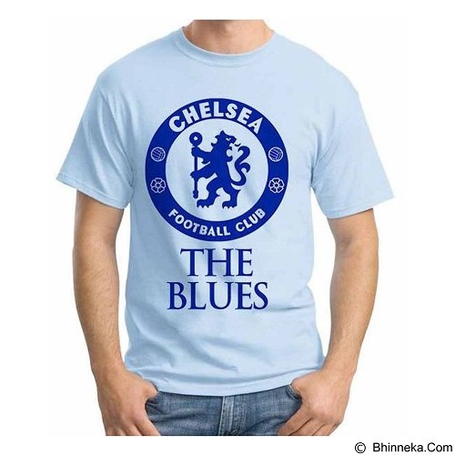 ORDINAL T-Shirt Premiere League Chelsea 01 Size ML (Merchant) - Kaos Pria