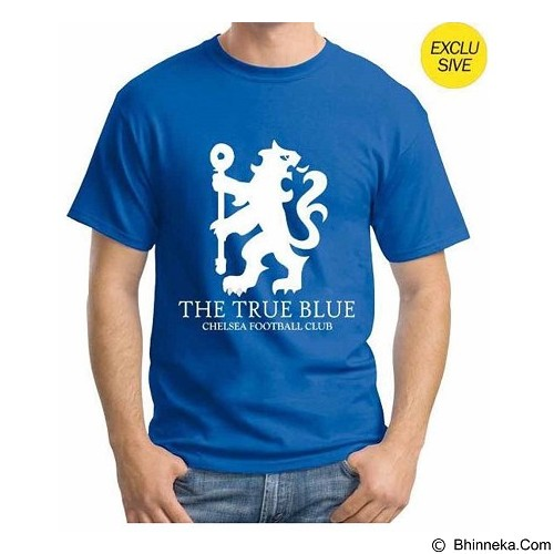 ORDINAL T-Shirt Premiere League Chelsea 06 Size XL - Blue (Merchant) - Kaos Pria