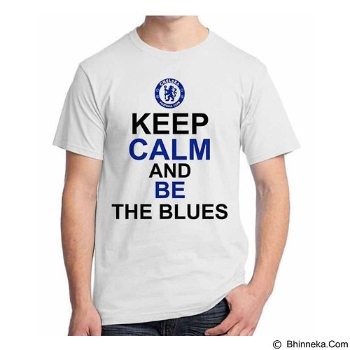 ORDINAL T-Shirt Premiere League Chelsea 08 Size ML (Merchant) - Kaos Pria