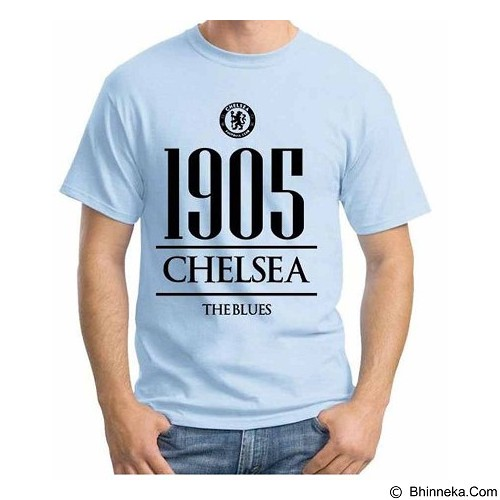 ORDINAL T-Shirt Premiere League Chelsea Year Size XL (Merchant) - Kaos Pria