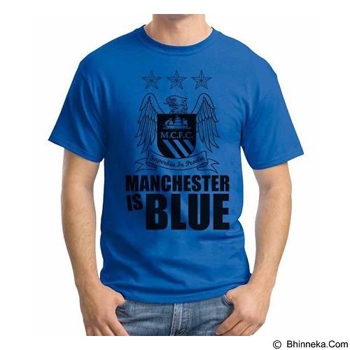 ORDINAL T-shirt Manchester City Edition 01 Size XXL (Merchant) - Kaos Pria