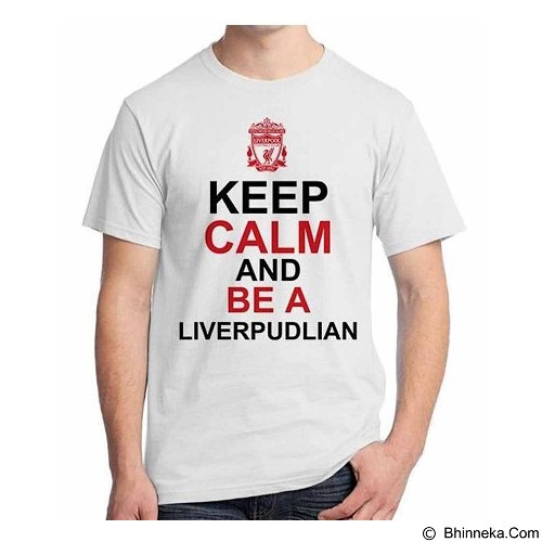 ORDINAL T-Shirt Premiere League Liverpool 08 Size XXL (Merchant) - Kaos Pria