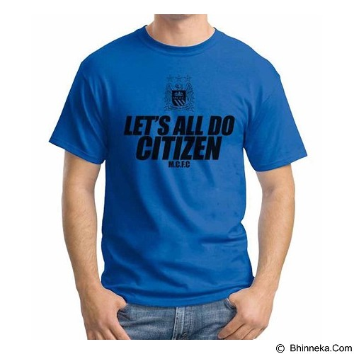 ORDINAL T-shirt Manchester City Edition 03 Size XXL (Merchant) - Kaos Pria