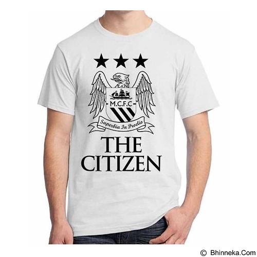 ORDINAL T-Shirt Premiere League Manchester City 01 Size XL (Merchant) - Kaos Pria