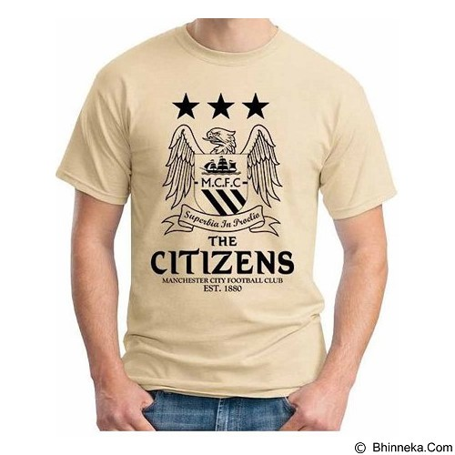 ORDINAL T-Shirt Premiere League Manchester City 06 Size ML (Merchant) - Kaos Pria
