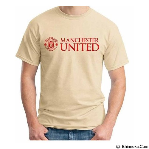 ORDINAL T-Shirt Premiere League Manchester United 02 Size M (Merchant) - Kaos Pria