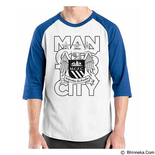 ORDINAL Raglan Manchester City Edition 07 Size ML (Merchant) - Kaos Pria