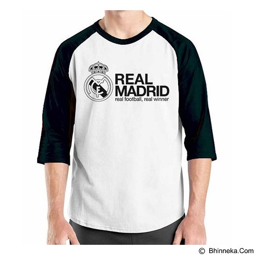 ORDINAL Raglan Real Madrid Edition 06 Size L (Merchant) - Kaos Pria