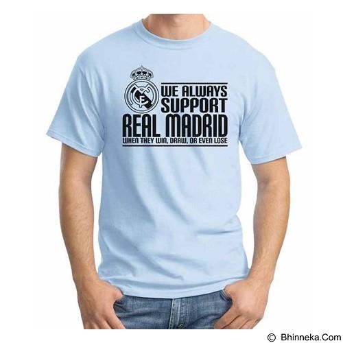 ORDINAL T-shirt Real Madrid Edition 03 Size M (Merchant) - Kaos Pria